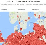 Foundation for keeping Jewish heritage unveils map of Europe's synagogues